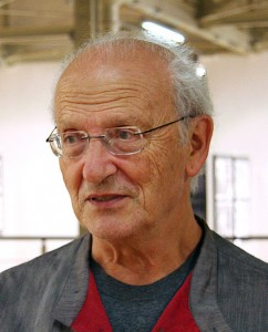 Jean Giraud at International Festival of Comics in ?ód?, 4th October 2008. Photo by  Jarek Obwa?anek