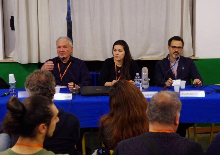 Franco Ricciardiello, Giulia Abbate, Emanuele Manco